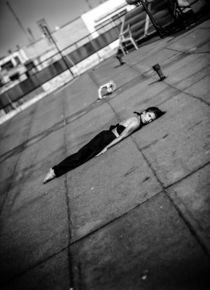 Dance Photography - B.A.D. Valaoritou Rooftop 01 by bornadancer