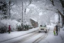Winter in Northumberland von Paul Davis