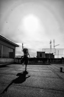Dance Photography - B.A.D. Valaoritou Rooftop 08 by bornadancer