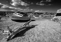 Shaldon in mono  by Rob Hawkins