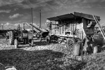 Old Fordson & the Thresher  by Rob Hawkins