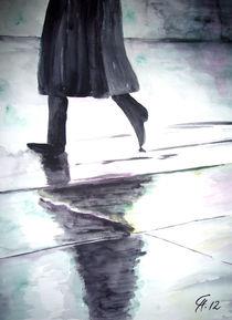 Der Mann im Regen von Christine  Hamm