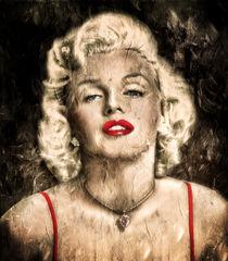 Vintage Grunge Goddess Marilyn Monroe  by Zeana Romanovna