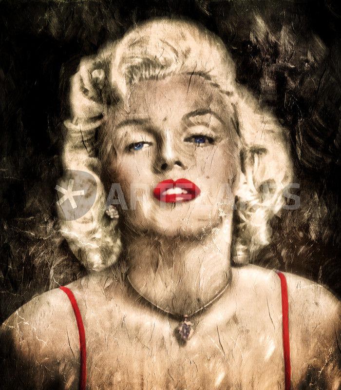 Vintage Grunge Goddess Marilyn Monroe \