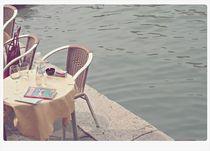 coffee on the lagoon- Venice von Manuela Russo