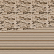 Coffee Cocoa Stripes by Patricia N
