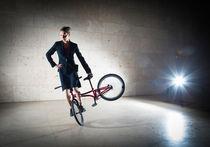 BMX Flatland mit Monika Hinz modisch cool und elegant von Matthias Hauser