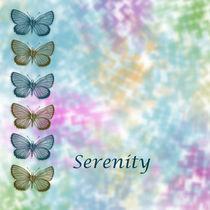 Serenity Butterflies von Patricia N
