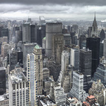 Rainy Manhattan by David Tinsley