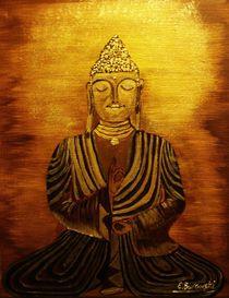 Buddha by Eva Borowski