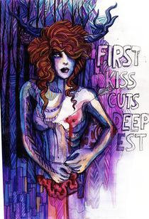 First Kiss by joahannah vonFrankenstein