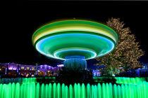 Grüner Kreisel von Michaela Rau