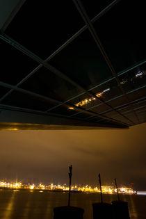 Dockland Hamburg bei Nacht von Marten Bornhöft