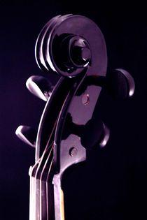 Schwarze Geige by aidao