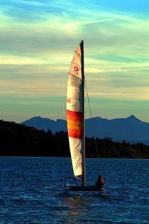 Seegelboot by aidao