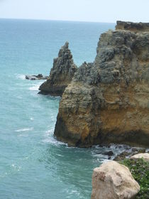 Cliffs, Puerto Rico by Tricia Rabanal