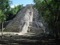 Coba landscape, Mexico, Riviera Maya- Mayan Pyramid, by Tricia Rabanal