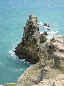 Caribbean Cliffs, Puerto Rico by Tricia Rabanal