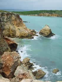 Landscape Caribbean Cliffs, Puerto Rico by Tricia Rabanal