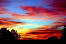 Leuchtender Sonnenuntergang von aidao