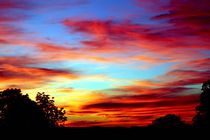 Leuchtender Sonnenuntergang by aidao