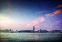 Venice evening by James Rowland