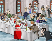 Bizarre banquet by William Rossin