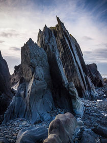 Rocks at Duckpool von Craig Joiner