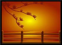 Amber Sunset by Tim Seward