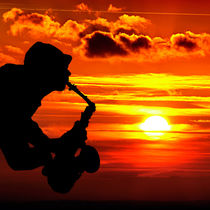 sunset-sax von Jake Playmo