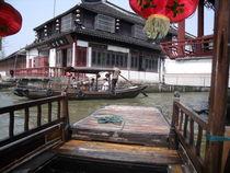 Zhujiajiao oder das kleine Venedig in China von Jenny Pfau