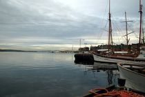 Blick auf den Oslofjord by Jenny Pfau