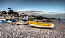 Boats at Budleigh  by Rob Hawkins