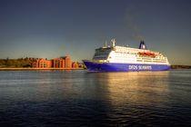 Ferry on the Tyne  by Rob Hawkins