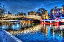 Lendal Bridge York by Allan Briggs