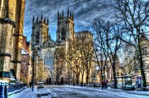 York Minster by Allan Briggs