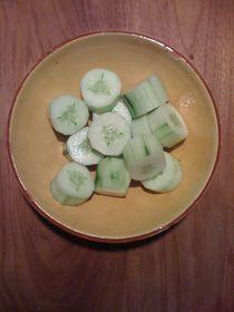 Cucumber Salad #01 von Vasilis van Gemert