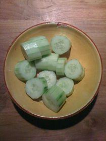Cucumber Salad #02 von Vasilis van Gemert