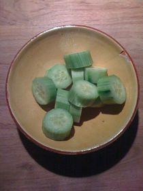 Cucumber Salad #03 von Vasilis van Gemert