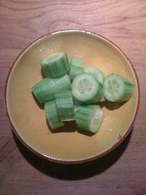 Cucumber Salad #04 von Vasilis van Gemert