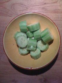 Cucumber Salad #05 von Vasilis van Gemert