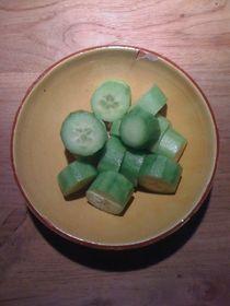 Cucumber Salad #09 von Vasilis van Gemert