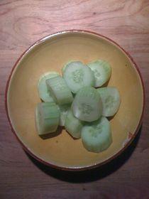 Cucumber Salad #10 von Vasilis van Gemert