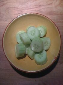 Cucumber Salad #10 by Vasilis van Gemert