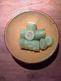Cucumber Salad #11 von Vasilis van Gemert