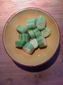 Cucumber Salad #12 by Vasilis van Gemert
