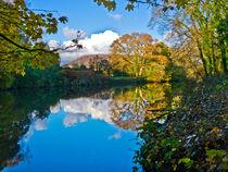 River Taff, Nr Cardiff von Hazel Powell