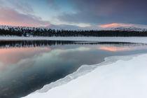 Winter light by Mikael Svensson
