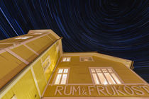 Startrails over hostel by Mikael Svensson
