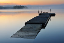 Floating jetty by Mikael Svensson